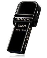 ADATA flashdisk AI920 128GB s Lightning a USB 3.1 černý