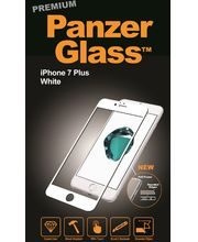 PanzerGlass ochranné tvrzené sklo pro Apple iPhone 7 Plus, bílá