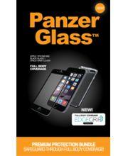 PanzerGlass ochranné tvrzené sklo pro Apple iPhone 6/6s, displej + tělo, černé